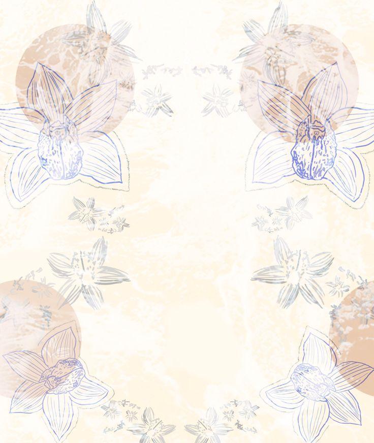 Orchid pattern - Natalia CA.