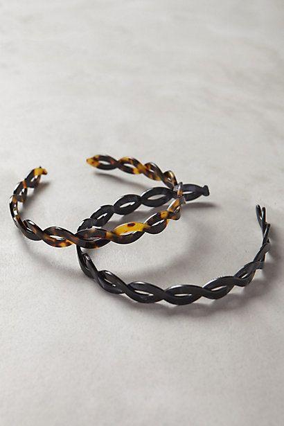 Viveda Twist Headband Set #anthropologie