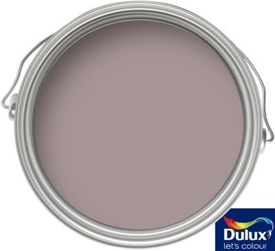 Dulux Dusted Damson - Matt Emulsion Paint - 2.5L | Homebase