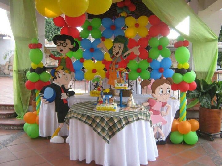 Omg this is so cute!!! I will at least try to do all the flowers with balloons...