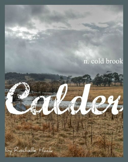 Baby Boy Name: Calder. Meaning: Cold Brook. Origin: Celtic; Gaelic; Scottish; English. http://www.pinterest.com/vintagedaydream/baby-names/