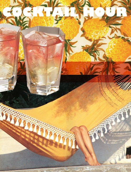 The Frenchy: 1 1/2 oz. Pear Vodka, 3 oz. Pineapple Juice, 1 oz. Cranberry Juice….