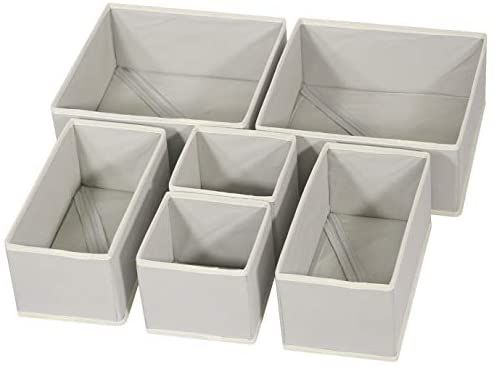 Amazon Com Diommell Foldable Cloth Storage Box Closet Dresser