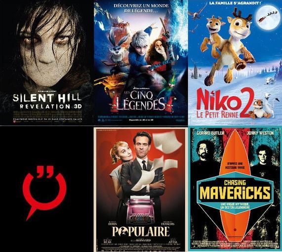 [Ciné] Les bandes-annonces de la semaine : Silent Hill, Les Cinq Légendes, Nikko le petit renne 2, Populaire, Chasing Maverick