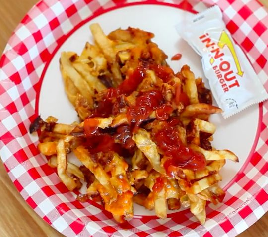 Animal Style Fries from In-N-Out are a must! But are they even better when waffled?