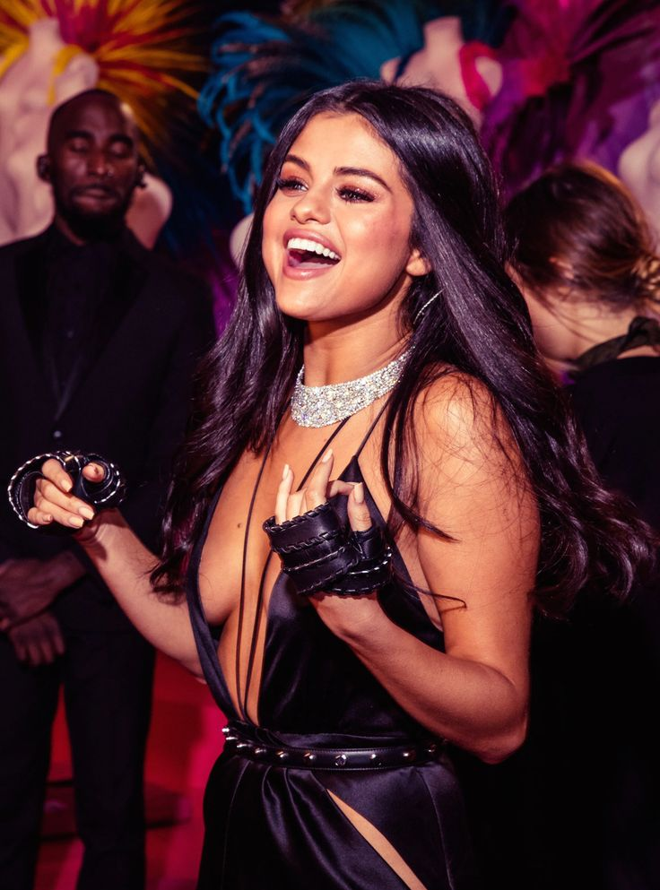 Selena Gomez at the 2015 Victoria's Secret Fashion Show | Photograph by Justin Bishop | November 10, 2015