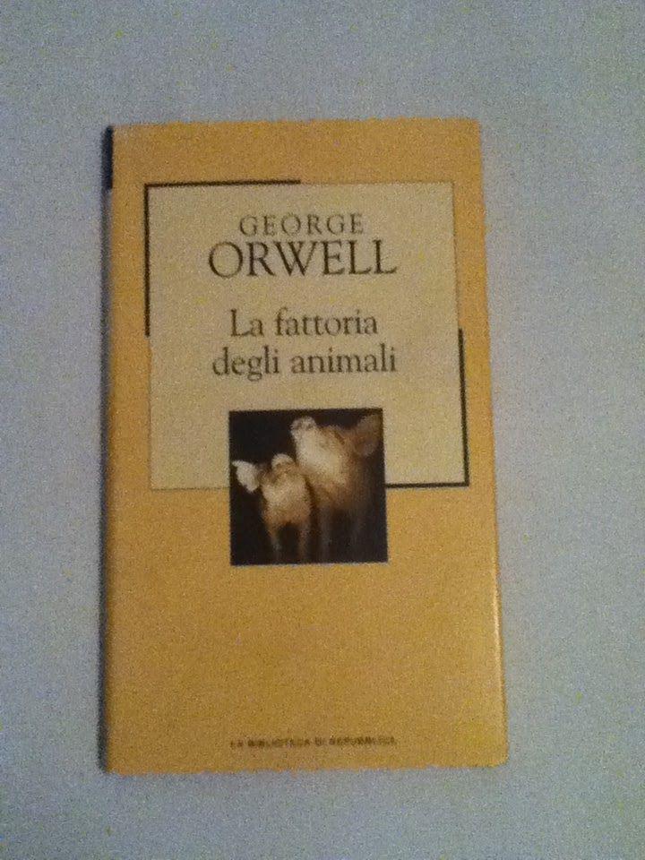 BookWorm & BarFly: La fattoria degli animali - George Orwell (1945)