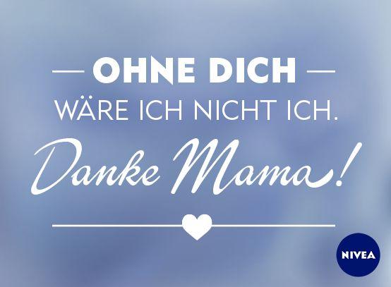 Meine Mama tausche ich nicht. #DankeMama #Muttertag #Mom #Mothersday #NIVEA
