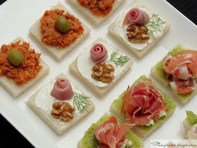 17 best images about o do cocina aperitivos on pinterest for Canapes faciles y ricos