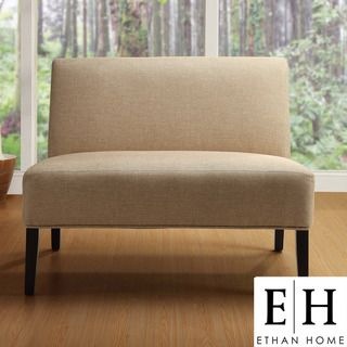 ... Loveseat Is A Welcoming Addition To Any Living Room. This High Quality  Polyester Upholstering Adds The Perfect Finishing Touch. 33 Inches High X 40  ...