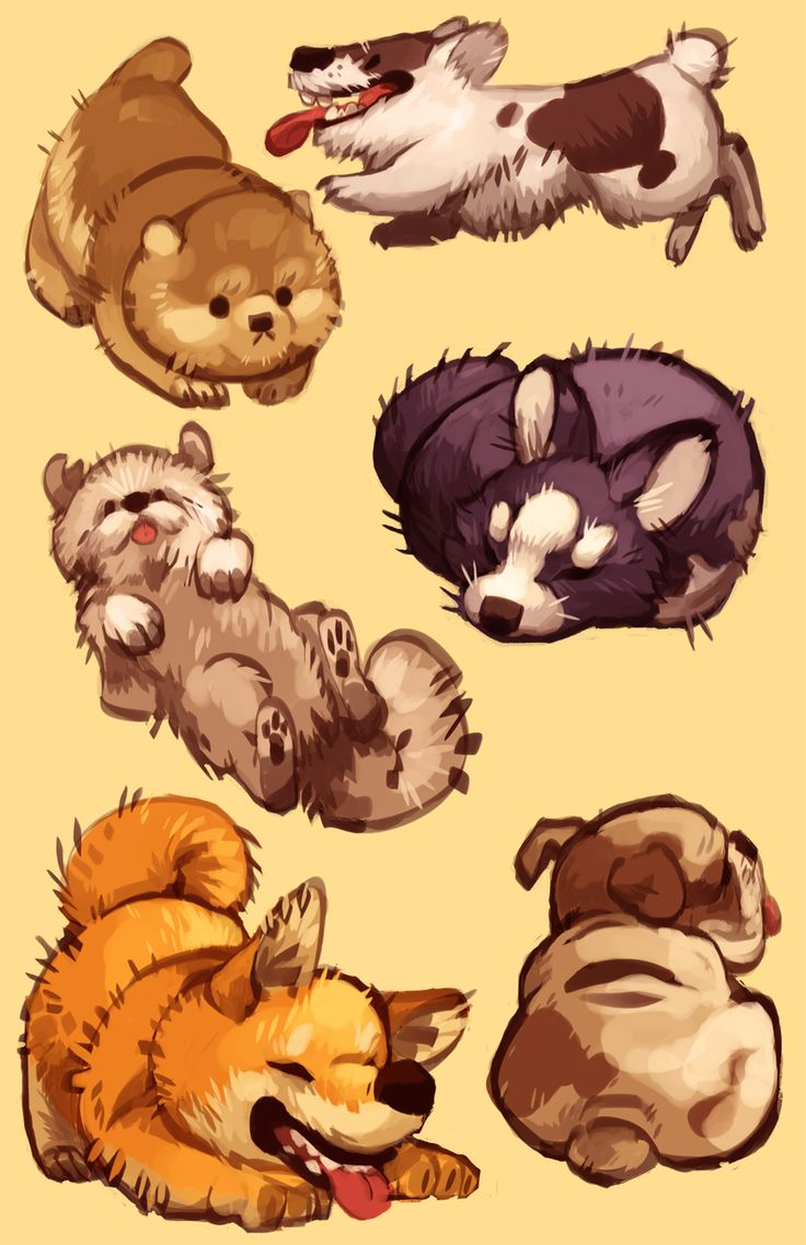 Plumweed Make A Drawing Coveredpletely In Puppies Just A Shit Load Of  Puppies