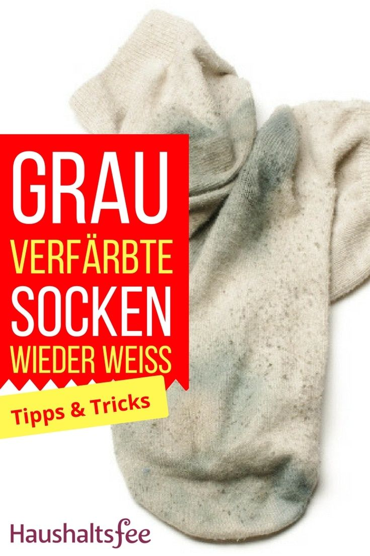 Weiße Socken Wieder Weiß Bekommen Ganz Einfach Haushalt Sweaters
