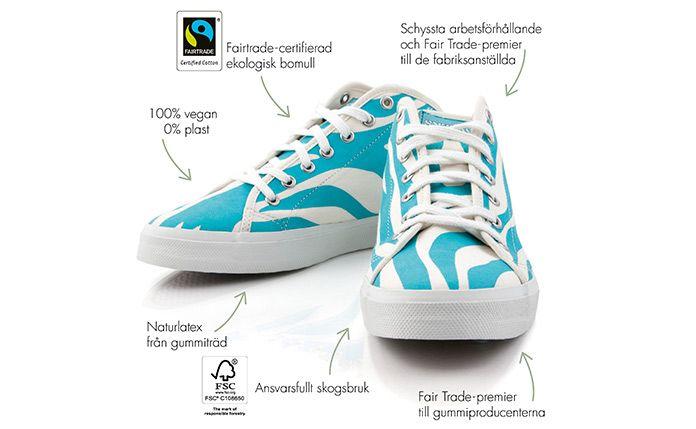 Scorett - Sweeks eko-skor i ekologisk bomull och 100% naturlatex