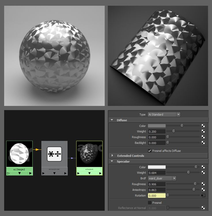 Specular - Arnold for Maya User Guide - Solid Angle