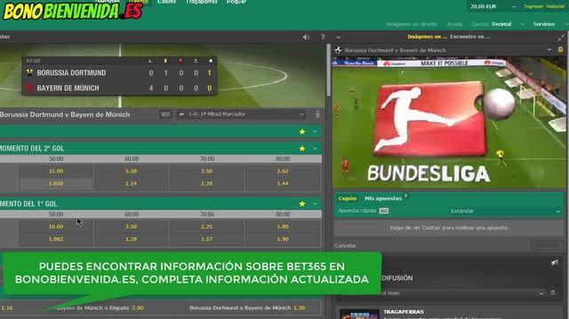 Disfruta de la retransmisión de la Liga Alemania en internet, ver partidos de la Bundesliga en directo con los partidos en live stream de bet365 aquí: http://bit.ly/PronosticosBet365  (Requiere registro y depósito)