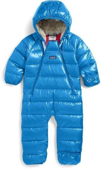 786a95054 Patagonia 'Hi-Loft' Down Sweater Bunting (Baby)   Fashion   Pinterest   Baby,  Kids fashion and Baby boy