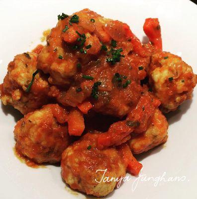 Easy Chicken MeatBall Recipe