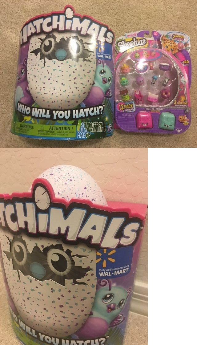 Other Interactive Toys 232: Nib Hatchimals Burtle Exclusive To Walmart Plus Bonus 12 Pack Shopkins Season 5 -> BUY IT NOW ONLY: $65 on eBay!