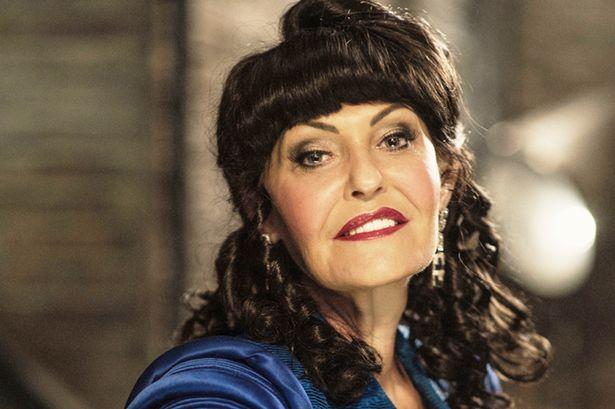 Hilary Devey of Dragons' Den fame