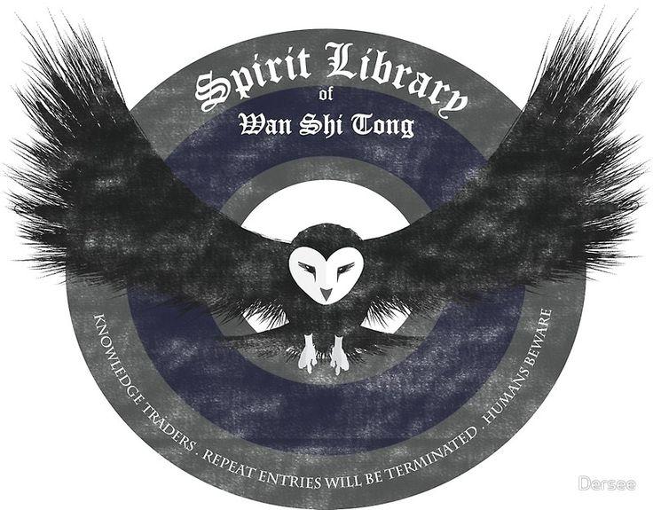 Avatar's Wan Shi Tong Library Logo by Dersee