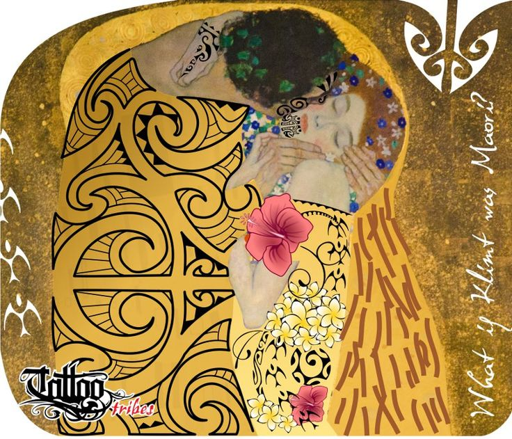 WHAT IF Klimt was a Maori?