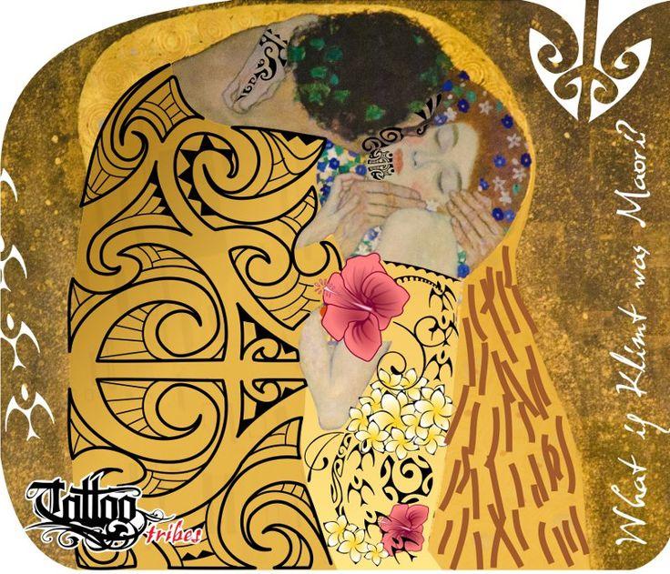 WHAT IF Klimt was a Maori?