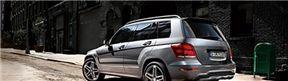 2015 model kiralık Mercedes GLK, Siyah renk, Dizel, Otomatik vites, Günlük Kiralama 240,00 €