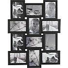 more details on Living 12 Print Aperture Photo Frame - Black.