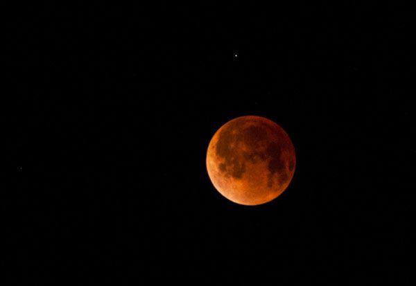 «Luna de sangre» desde Cuba