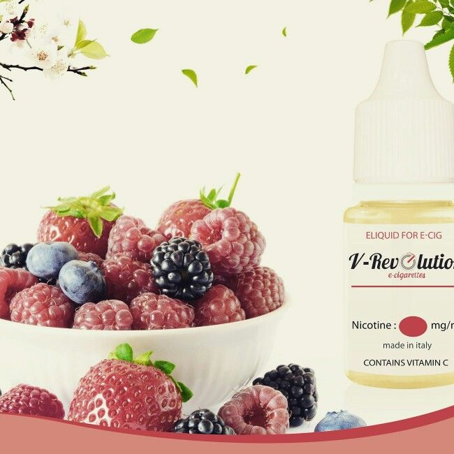 V-Revolution Mixed Berries ejuice!