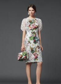 Шифоновые платья 2014 9