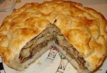 Узбекский домашний курник. Влюбитесь навсегда!