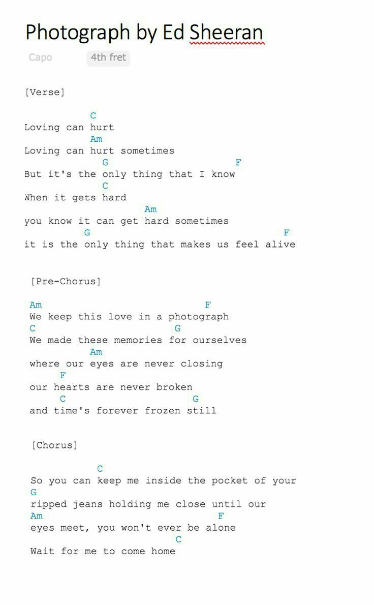 66 best chords images on pinterest music patterns and songs photograph by ed sheeran chords for guitar ir ukulele hexwebz Images