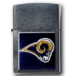 """Checkout our #LicensedGear products FREE SHIPPING + 10% OFF Coupon Code """"Official"""" St. Louis Rams Zippo Lighter - Officially licensed NFL product Licensee: Siskiyou Buckle Official Zippo lighters   Los Angeles Rams - Price: $32.00. Buy now at https://officiallylicensedgear.com/st-louis-rams-zippo-lighter-zfl130"""