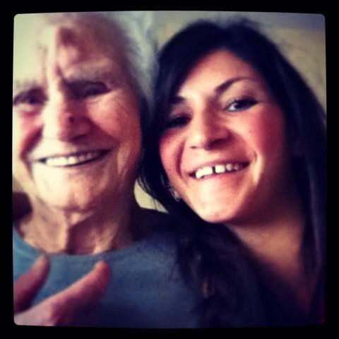 Grandma...same smile