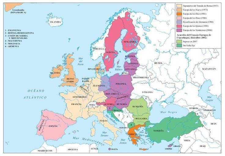 30. La Unión Europea, 1952-2004