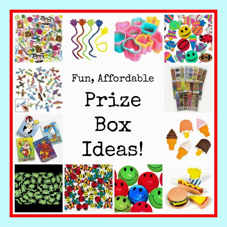 Cheap Mama Chick: Fun, Affordable Prize Box Ideas (Great for Home or School)