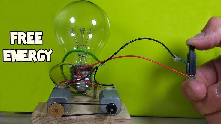 Free Energy Light Bulbs 230V - Using Piezo Igniter - YouTube
