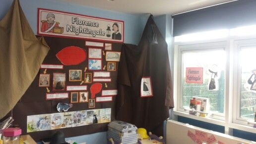 Florence Nightingale display and role play area