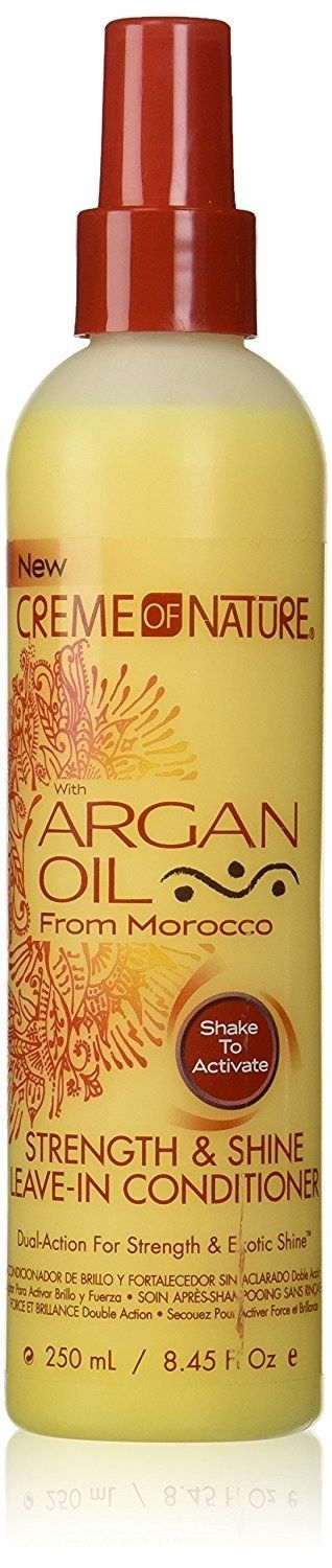 Crème Of Nature Argan Oil Strength and Shine Leave-In Conditioner, £4.99 | 17 Products For Natural Hair That Are Affordable And Really Good
