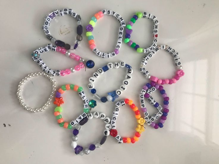 Kandi bracelets single / Custom Kandi bracelets / rave accessories / bead bracelete by ElectricCoutureDolls on Etsy https://www.etsy.com/ca/listing/581402987/kandi-bracelets-single-custom-kandi