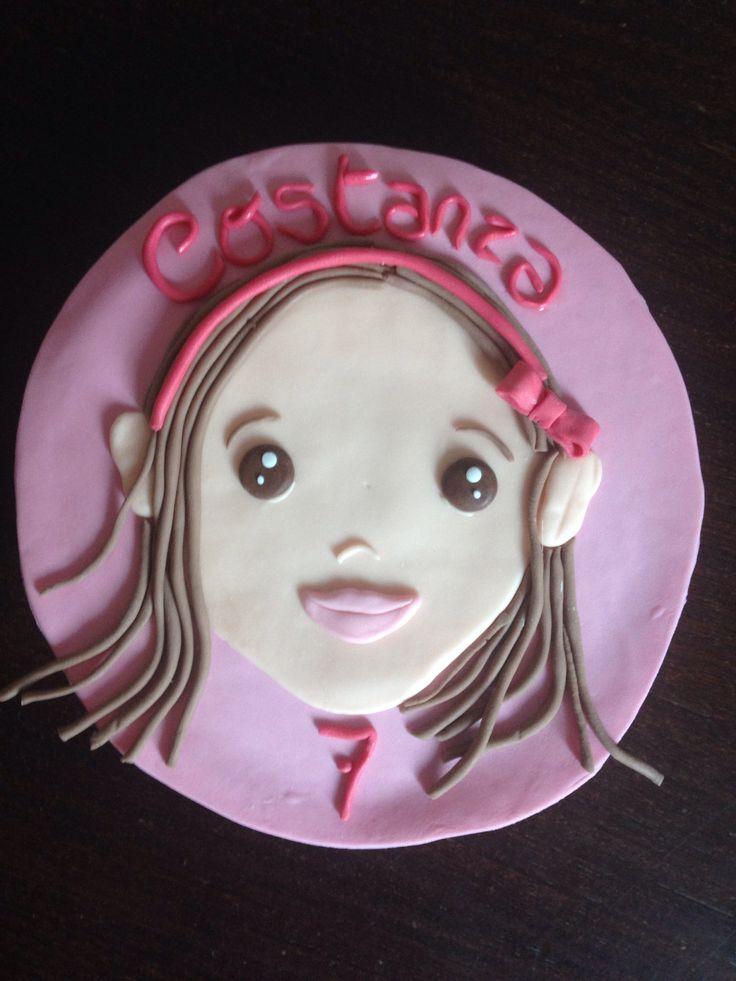 Portrait Cake! Costanza!