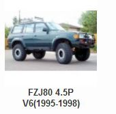 Toyota > Toyota 4x4 Parts > Toyota Land Cruiser Parts > FZJ80 4.5P V6(1995-1998)