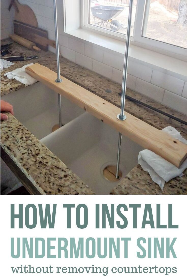 Undermount Sink Installation Tips And Tricks With Images