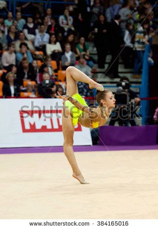 MOSCOW - FEBRUARY 20: Laura Bozic, Croatia, on Rhythmic gymnastics Alina Cup Grand Prix Moscow - 2016 on February 20, 2016, in Moscow, Russia http://www.shutterstock.com/pic.mhtml?id=384165016 #acrobatic, activity, adult, #aerobics, #athlete, beautiful, beauty, #body, #bozic, #caucasian, #champions, #clubs, color, #croatia, #cup, #dancer, #elegance, exercising, female, flexibility, floor, #girl, #grace, #gymnastics, healthy, human, image, #laura, lifestyle, #milacic, motion, one, #pantyhose…