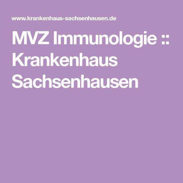 MVZ Immunologie :: Krankenhaus Sachsenhausen