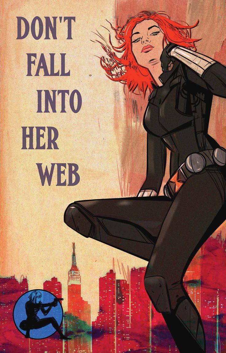 Black Widow:  Don't Fall Into Her Web
