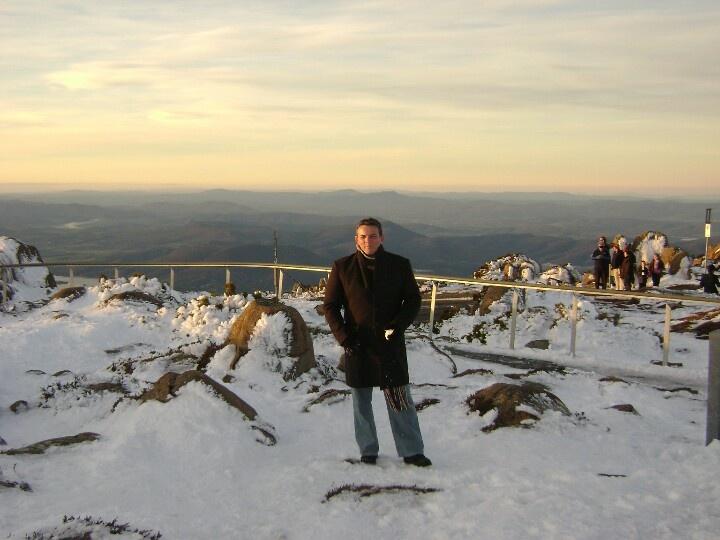 Mt. Wellington, Hobart. Tasmania
