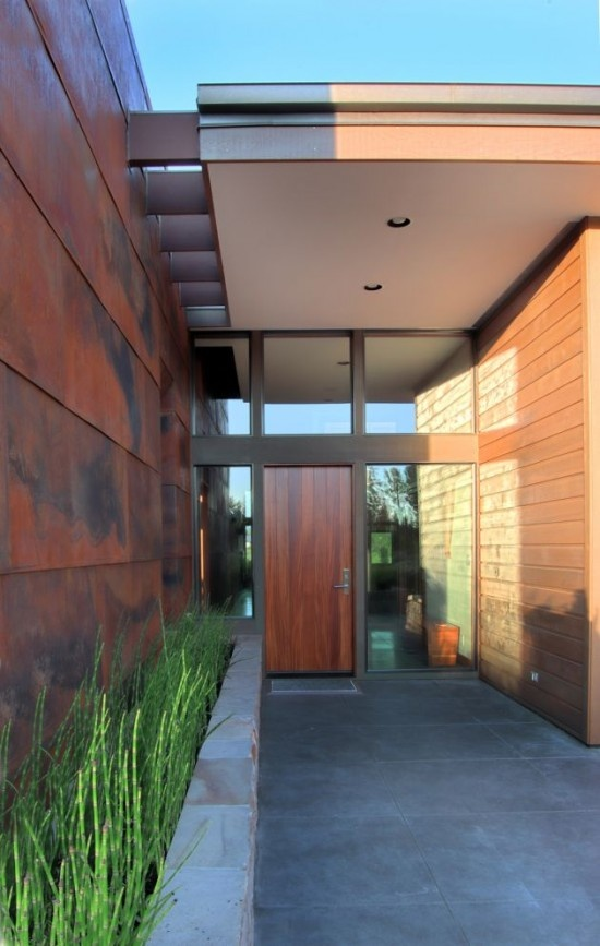 Nicely articulated entry as they say...The Doors, Doors Design, Modern Entry, Bend Oregon, Front Doors, Front Entrance, Entrance Doors, Design Studios, Wood Doors