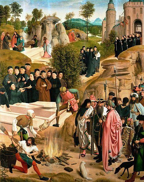 Geertgen tot Sint Jans (1460/1465 – до 1495) Судьба мощей святого Иоанна Крестителя
